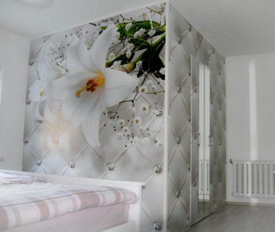 Schlafzimmer Ferienwohnung Zum Lederbernd Gruenhain Erzgebirge