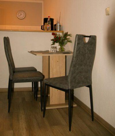 Küche Ferienwohnung Zum Lederbernd Gruenhain Erzgebirge